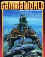 Gamma World (3rd Edition, Warrior Riding Beast Cover)