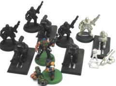 Catachan Jungle Fighters Missile Launcher Collection #1