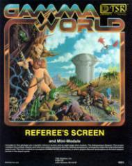 Gamma World Referee's Screen w/The Albuquerque Starport (1st Edition)