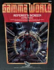 Gamma World Referee's Screen w/The Albuquerque Starport (2nd Edition)