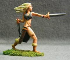 Half-Elf Fighter (Female)