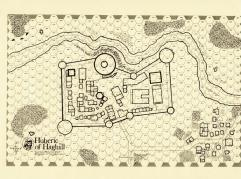 Hubric of Haghill Map