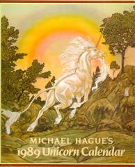1989 Unicorn Calendar