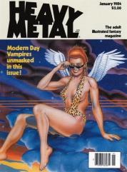 "1984 January ""Modern Day Vampires Unmasked, Ranxerox in New York, Arthur C. Clarke Illustrated"""