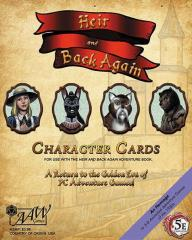 Heir & Back Again - Character Cards (5e)