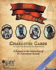 Heir & Back Again - Character Cards (Pathfinder)
