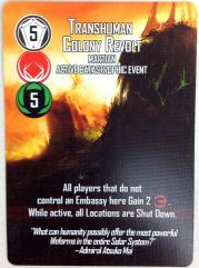 Helionox - Catastropic Event Cards