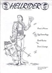 "Vol. 1, #1 ""Osric's Mirror, Ygg Cosmology"""