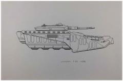 Centurion Vehicle Briefing - Hercules Original Art