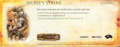 Campaign Card #10 - Hero's Strike