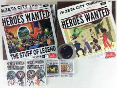 Heroes Wanted Complete Collection - Base Game + 5 Expansions!