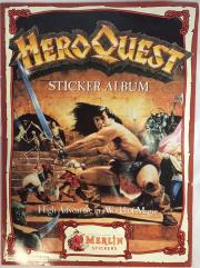 HeroQuest Sticker Album