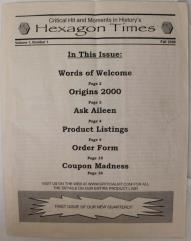 "Hexagon Times Vol. 1, #1 ""Origins 2002"""