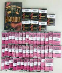 Highlander CCG Collection - Over 1250 Cards, Sealed in Original Packaging!