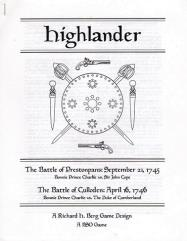 Highlander - Prestonpans and Culloden