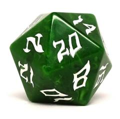 48mm d20 - Hill Giant w/White
