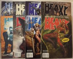Heavy Metal Magazine Collection - 8 Issues!