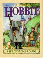 Hobbit, The - A Set of 36 Color Cards