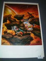 "TSR Spelljammer - Lore of the Void - 19"" x 23"" Original Painting"