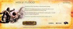 Campaign Card #6 - Holy Flood