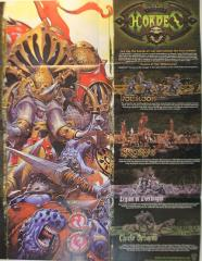 Hordes MKI Quick Start Rules/Promo Poster