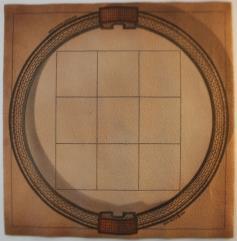 """3 x 3 Grid 2 1/2"""" Squares - Circular Arena"""