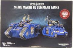 HQ Command Tanks (Warhammer World Exclusive)