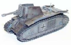 HT-10 French Char B1 Bis Captured German Howitzer