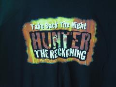 Hunter - The Reckoning T-Shirt - Take Back the Night (XL)