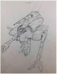 Technical Readout 2750 - Hussar Concept Art