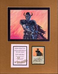 Icatian Infantry Art Print w/Signed Card