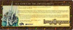 Player Rewards Card - Living Greyhawk - Ice Cities of the Crystalmists