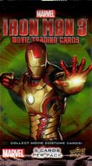 Iron Man 3 Movie Trading Cards Booster Pack