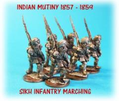 Sikh Infantry Marching Unit