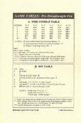 Battleship Captain Reference Card Set