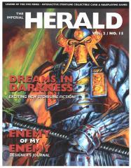 "Vol. 2, #15 ""Dreams in Darkness, The Imperial Histories, Gen Con Winning Deck"""