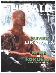 "Vol. 2, #16 ""News of Rokugan, 3D Strongholds"""