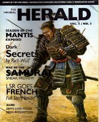 "Vol. 2, #3 ""Season of the Mantis, Dark Secrets, Way of the Samurai"""