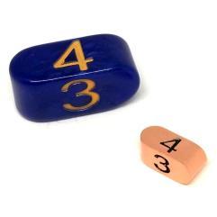 Infinity d4 Tiny Rose Gold w/Black