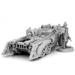 Female Inquisitor w/Battle Car