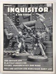 "#18 ""Harlequin Army List"""