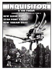 "#10, 11 & 12 (Reprint) ""New Eldar Aspects, Titan Point Values, Terrain Rules"""