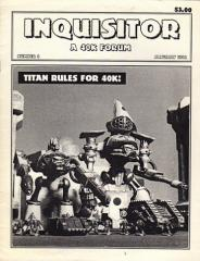 """#3 """"Titan Rules for 40K, New Heavy Weapon Charts, Data Cards"""""""
