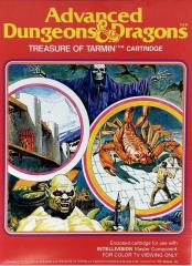 InTellivision Oversized Display - Treasure of Tarmin