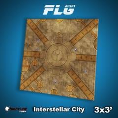 3' x 3' - Interstellar City