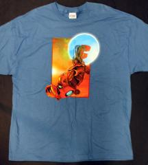 Iron Man Flying T-Shirt (XXL)