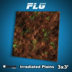 3' x 3' - Irradiated Plains
