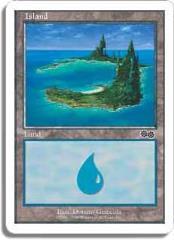 Island - Urza's Saga Ver. 1 (C)