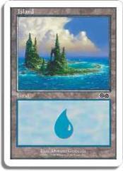 Island - Urza's Saga Ver. 2 (C)