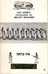 Jack Scruby's Catalogue of Military Miniatures 1973-74